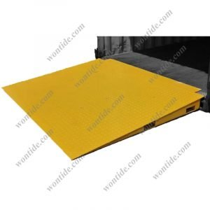 Forklift Steel Container Ramp