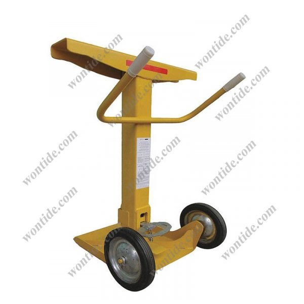 Gas Activated Trailer Stabilizing Stand