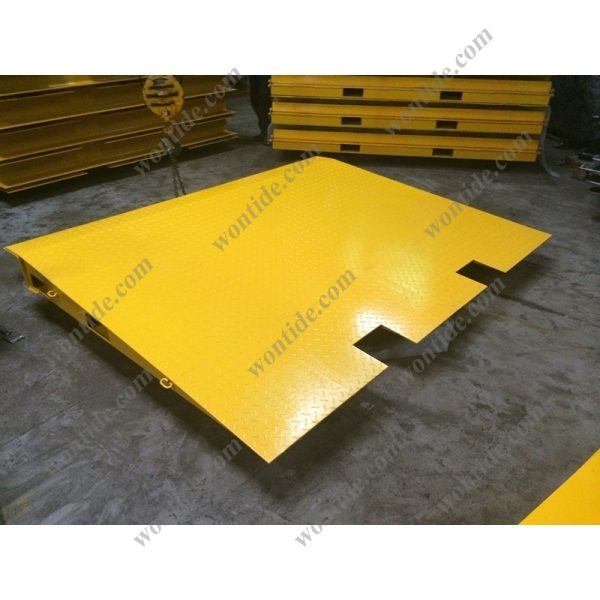 Steel Container Ramp with Chains