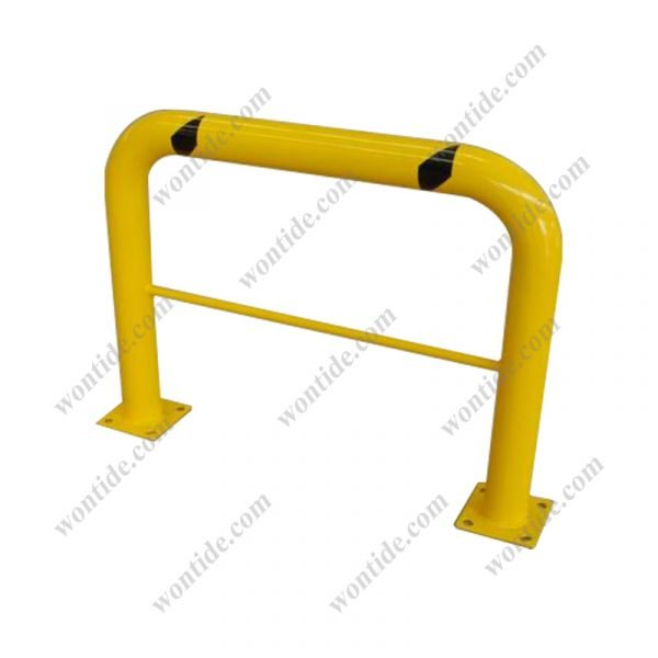 High Profile Machinery Guard with Mid Rail